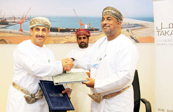 Takamul/CUC signs pioneering agreement with Duqm SEZAD