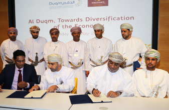 Signing of Usufruct Agreement for the Implementation of a Sebacic Acid Plant in the Duqm Special Economic Zone
