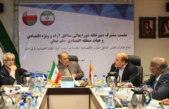 Iranian President Advisor for Free Zones Receives Yahya Al Jabri