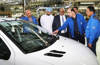باستثمارات تصل إلى 200 مليون دولار إيران خودرو لإنتاج السيارات تعتزم إنشاء مصنع لها بالدقم
