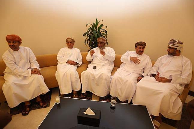 حفل عشاء ندوة آفاق الاستثمار الخليجي بالدقم - ٢٠١٣