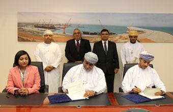 هيئة المنطقة الاقتصادية الخاصة بالدقم توقع اتفاقيتين بنحو 48.4 مليون ريال