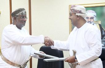توقيع مذكرة تفاهم بين وزارة التجارة والصناعة وهيئة المنطقة الاقتصادية الخاصة بالدقم