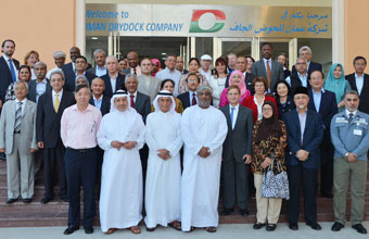 Heads of Diplomatic Missions in the Sultanate Visit Duqm Area