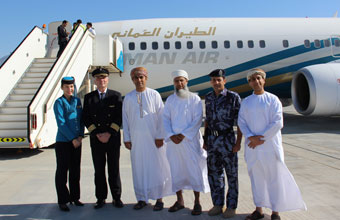 Boeing 737 starts operation on Muscat - Duqm route