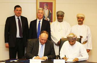 Oman Drydock Company Sign MOU jointly with Babcock International Group