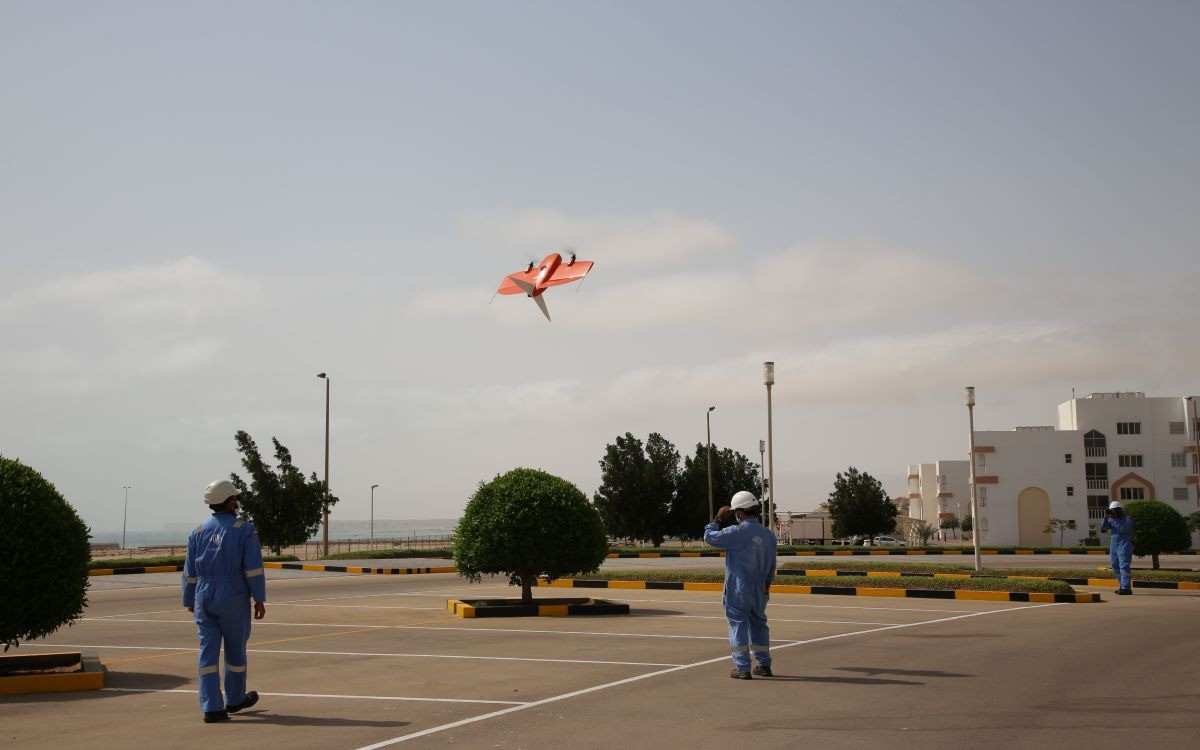 Drone experiments kick off in the Special Economic Zone at Duqm