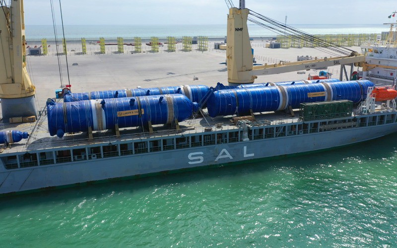 The biggest payload reaches the Port of Duqm
