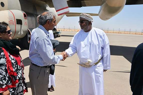 رؤساء البعثات الدبلوماسية في عمان يزورون الدقم