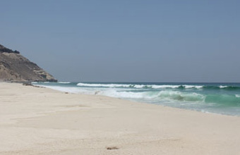 Image of a beach in Duqm